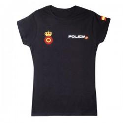 Camiseta POLICIA NACIONAL Mujer