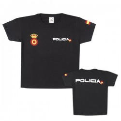 Camiseta POLICIA NACIONAL niño.