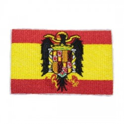 Parche Bandera España Escudo antiguo