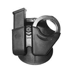 Porta cargador + grillete bisagra CU9
