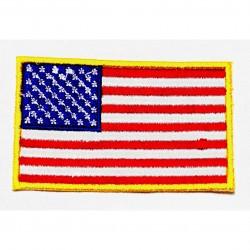 Parche bordado Bandera EEUU