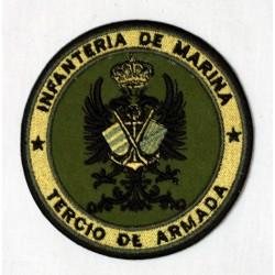 Parche bordado Tercio de la Armada
