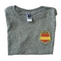 Camiseta niño DIVISIÓN AZUL escudo bordado