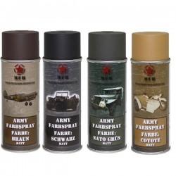 Pintura armas MFH ARMY