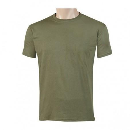 Camiseta manga corta lisa.
