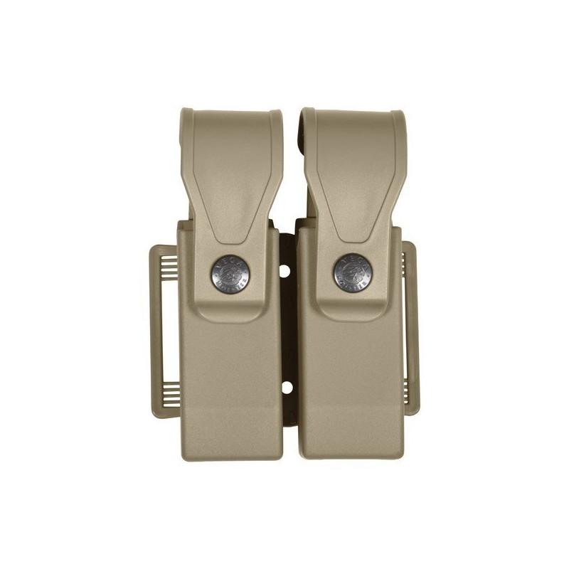 Portacargador pistola polímero doble