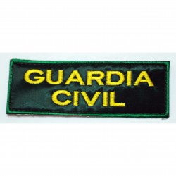 Parche  bordado GUARDIA CIVIL