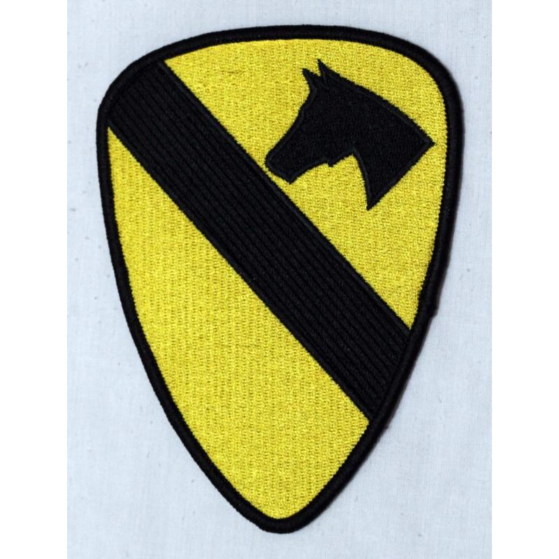 Parche Regimiento de Caballería americano color