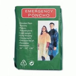 Poncho de emergencia