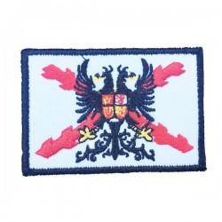 Parche bordado Aspas con Aguila Bicéfala