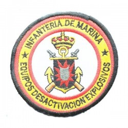 Parche bordado Desactivación de Explosivos Infantería de Mariana