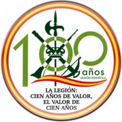 Imán 100 Aniversario Legión...