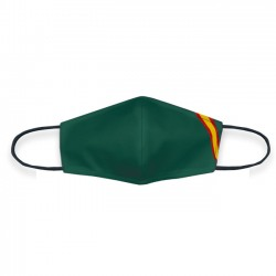 Mascarilla verde Bandera