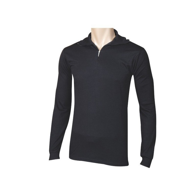 Camiseta manga larga con cremallera