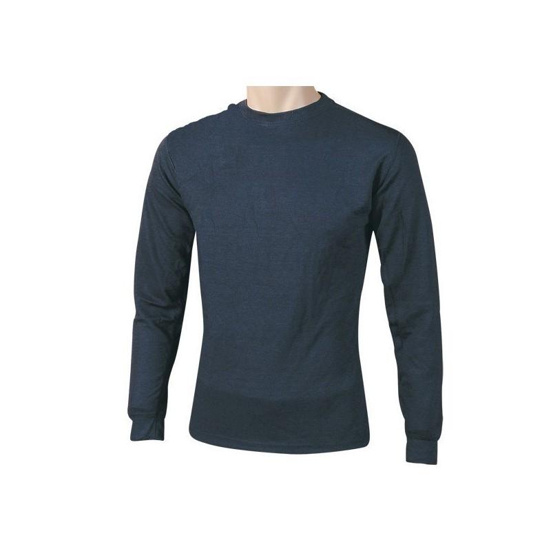 Camiseta interior térmica de manga larga.